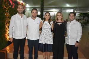 Ignacio, Bichara, Pati, Yamile y Pablo