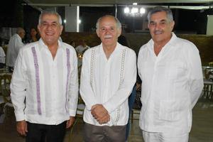 Rafael Diaz, Ricardo Marcos y  Jose Parra