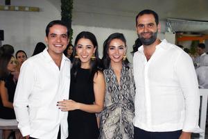 Rodrigo, Maricarmen, Gaby y Juan Pablo