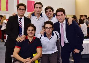 Andres, Ivan, Andres, Santiago, Fernando y Jaime
