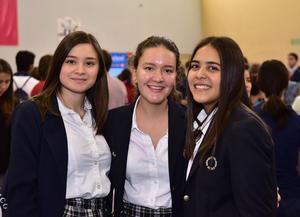 Faride, Linda y María José