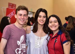 Fede, Luisa y Clara