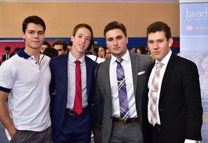 Roberto, David, Pablo y Adolfo