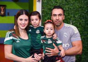 Lorena, Federico, Ana Valeria y Federico