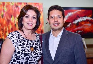 Leticia Aranda y Mario Marin
