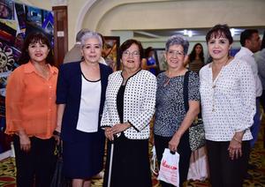 Rosario, Graciela, Maria Elena y Maria Estela Ochoa