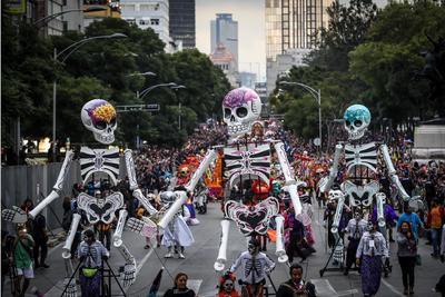 La Secretaría de Seguridad Pública de la Ciudad de México reportó saldo blanco al concluir la tercera edición del desfile del Día de Muertos 2018.