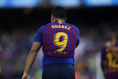 El atacante charrúa marcó tres goles ante Real Madrid.