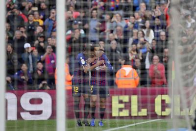 Coutinho abrió la goleada ante Real Madrid.