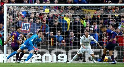 Coutinho abrió el marcador a los 10 minutos de juego en el Camp Nou.