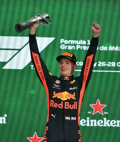 El holandés Max Verstappen se llevó el Premio de México.