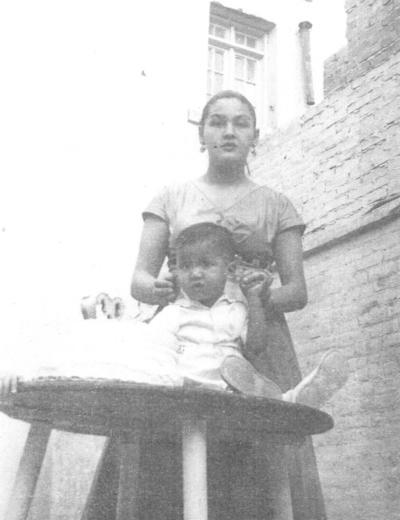 28102018 Cumpleaños No. 2 del Ing. Jorge Eduardo Wah Robles en 1955.