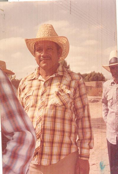28102018 Sr. Lorenzo Sandoval Ramírez (qdep), en aniversario del Ejido Arturo Martínez Adame, un 21 de octubre.