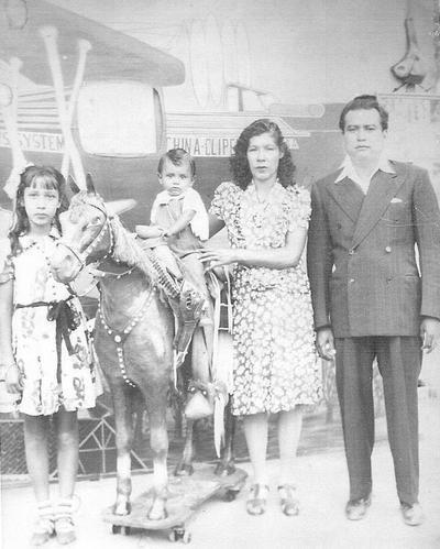 28102018 Familia de la O Álvarez en 1946.