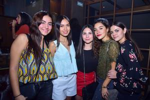 29102018 Marita, Fátima, Alejandra, Marifer y Odet.