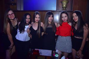 29102018 Isabela, Anais, Saira, Faby, Olivia y Daniela.