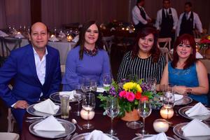 28102018 Armando Ávila, Brenda Leal, Claudia Márquez y Martha Echeverría.