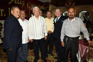 28102018 FESTEJO DE CUMPLEAñOS.  Jesús Sotomayor con Francisco Rodríguez, Fernando Rangel, Jorge Covarrubias y Gerardo Reyes.