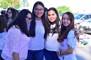 31102018 Rubí, Jessica, Valeria y Rassha.