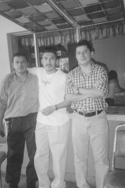 18112018 Víctor Ramírez, Hermenegildo Pérez y Gerardo Vázquez.