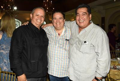 29112018 Rafa Cortés, Jesús Sotomayor y José Luis Orozco.
