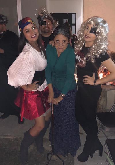 Fiesta de Halloween de la familia Ibarrola Hurtado