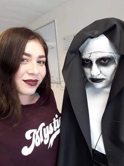 Yovana y Aisha Villarreal.