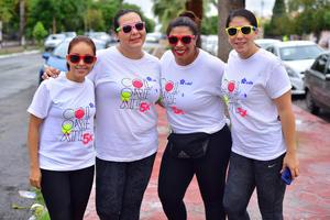 01112018 CARRERA ATLéTICA.  Mayra, Yanina, Mayela y Génesis.