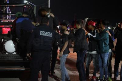En todo momento, autoridades cuidaron el no violentar las derechos de los menores.