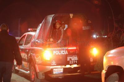 La detención de generadores de desorden y violencia comenzó a tomar ritmo más tarde.