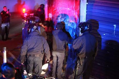 Con cara de niños pero algunos hasta con armas hechizas, fueron asegurados por policías municipales.