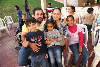 Familia Vázquez Díaz.
