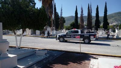 Cuerpos de seguridad se mantuvieron en el área.