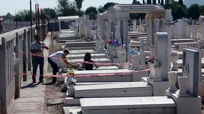 Lograron visitar a sus difuntos, este Día de Muertos.
