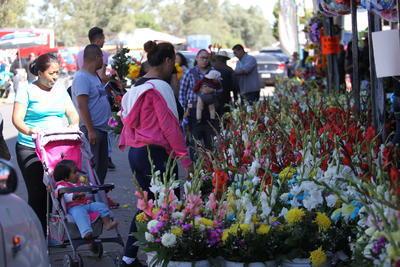 Las 80 piletas de agua fueron desinfectadas y pintadas para que Aguas del Municipio de Durango (AMD) garantice el suministro necesario para regar las tumbas y flores; unas 100 bancas también fueron pintadas para ofrecer comodidad a las personas que lo requieran.