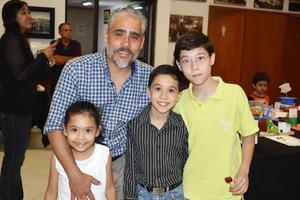 05112018 Juan Antonio, Aico, Ángel Nicolás y Diego Antonio.