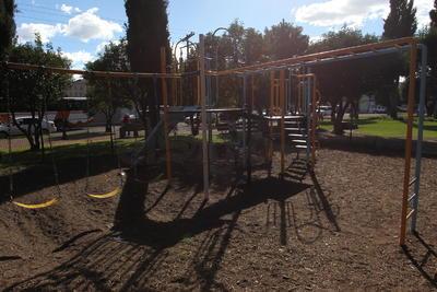 Lo que otrora era un jardín con amplia asistencia de niños, hoy se encuentra solo la mayor parte del tiempo.