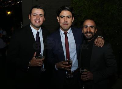 Juan Carlos, Alex Lome y Ricardo Flores.