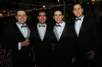 Diego Martínez, Fernando Arreola, Rodolfo Brena y Hugo Uribe.