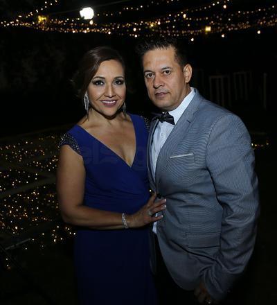 Rosy y Rubén García.