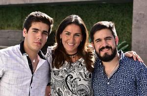 Luis, Paulina y Diego
