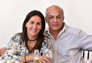 Pauilina Diez y Wicho Medrano