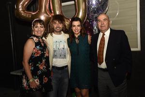 Emelia, Carlos, Sofia y Rodolfo