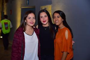 Jocelyn, Fernanda y Andrea