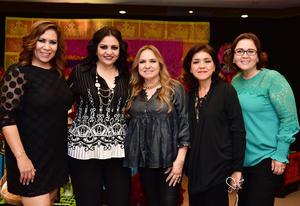 Bibi, Camen, Marcela, Gaby y Rocío