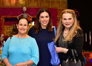 Gabriela Echegaray, Lorena Gonzalez y Maria Elena Salinas