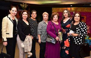 Ileana, Vivi, Rosario, Maria, Victoria, Ana y Rosy