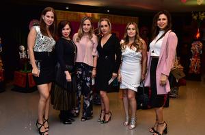 Lorena, Lore, Pily, Liz, Angelica y Paola