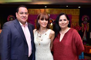 Luis, Paty y Luzma