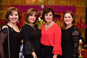 Nury, Gaby, Rocío y Cecy
